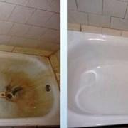 Реставрация ванн, покрытие жидким акрилом, восста фото