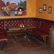 Диваны полумягкие и скамьи из натурального дерева для кафе, баров и ресторанов фото