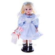 Кукла коллекционная Милана с зайчиком 43 см 763958 фото