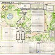 Дизайн-проект благоустройства и озеленения фото