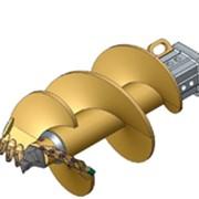 Шнековый бур, двухзаходный SB-2-S Модель для бурения легких грунтов фото