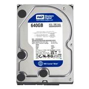Диск жесткий HDD 640 Gb SATA-II 300 Western Digital Caviar Blue фото