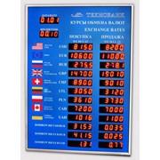 Табло курсов обмена валют! Производство РБ фото
