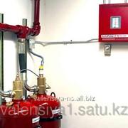Установка газового пожаротушения фото