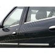 Молдинги дверей Renault Logan 04-13 4шт нерж фото