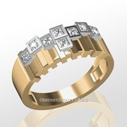 Кольца с бриллиантами M31900-1 фото