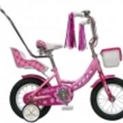 Велосипеды детские Echo 12 с ручкой фото