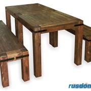 Мебель для дома, бани и дачи из массива древесины. фото