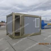 Блок-контейнер управления БК-У тип СЕВЕР фото