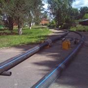 Сварка полиэтиленовых трубопроводов газ-вода ф 90-315 мм фото