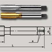 Метчики машинные для метрической резьбы короткие с проходным хвостовиком фото