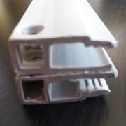 Профиль ПВХ стеновой для натяжных потолков фото