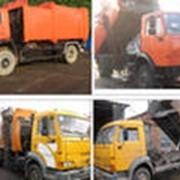 Коммунальная техника-мусоровозы. фото