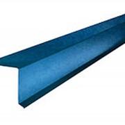 Ветровая планка ВП-250 2.5м Сигнально-синий RAL5005 фото