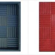 Форма для тротуарной плитки Паркет 300х300х50 фото