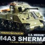 Радиоуправляемый Танк. 1/30 Sherman
