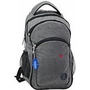 Городской рюкзак Bagland 'Лик Меланж' 0055769 серый фото