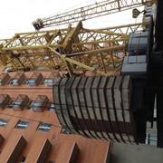 Монтаж башенного крана КБ 503 фото
