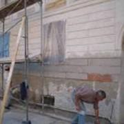 Фасадные штукатурные работы плиточные фото