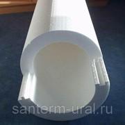 Трубная теплоизоляция Пенополистерол 102х50 мм фото