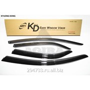 Дефлектор окон черный по 3 компл в упаковке Kyoung Dong, кросс_номер 93743234 фото