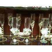 Свадебные бокалы гравировка