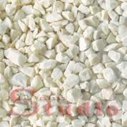 Мраморная крошка белая Каррара 4-8 мм фото