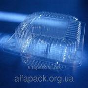 Одноразовая блистерная упаковка ПС-6, 118*118 фото