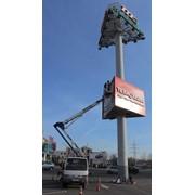 Услуги автовышек в Одессе высотой 14, 17, 20, 28 метров. фото