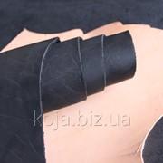 Юфть шорно-седельная черная арт. СК 1409 фото