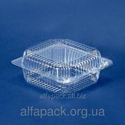 Одноразовая блистерная упаковка ПС-112, 155*150*72 фото