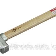 Молоток Зубр слесарный оцинкованный, цельнокованый с защитным ободом, круглый боек, 0,3кг Код: 4-20017-03 фото