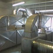 Монтаж вентиляции и кондиционеров фото