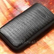 Кожаный Чехол для Samsung Galaxy S6 Edge Iguana copi фото