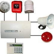 Контрольные приборы охранно-пожарной сигнализации фото