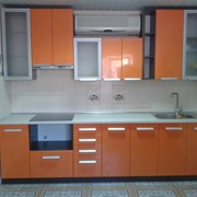 Кухня МДФ в плёнке фото