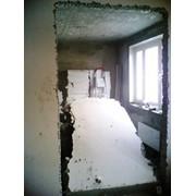Демонтаж стен фото