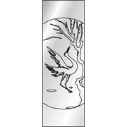 Обработка пескоструйная на 1 стекло артикул 5-03 фото