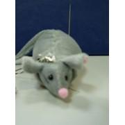 Мышь с розой фото