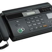 KX-FT988CA-B Panasonic факсимильный аппарат на термобумаге, Чёрный