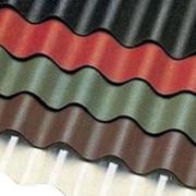 Цветные волнистые битумные листы ONDURA (Ондура) фото