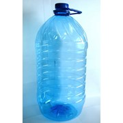 Тара ПЭТ: бутылки 5л с крышкой в комплекте фото