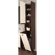 Шкаф-колонна Крит венге левый фото