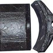 Тормозная колодка для тормоза ТКГ-300 фото