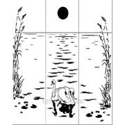Услуга пескоструйной обработки на 3 стекла артикул 202-1 фото