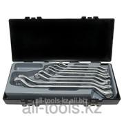 Набор накидных ключей отогнутых на 45° 8 пр. - 8-24 мм Код:5085 фото