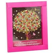 Шоколадная открытка Райское дерево В.ШКг541.100-яр фото