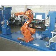 Роботехнический комплекс для полирования фото