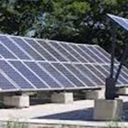 Солнечные панели в широком спектре мощности. фото