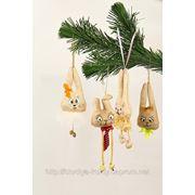Студия куклы приглашает Вас на новогодние мастер-классы. Делаем игрушку вместе с мамой. фото